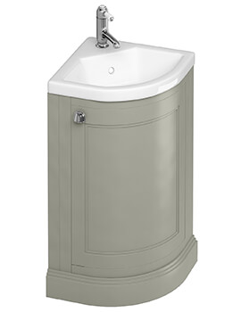 Freestanding 43cm Corner Unit And Quattrocast Basin