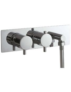 RO Series Concealed Dual Function Twin Valve With Outlet Elbow