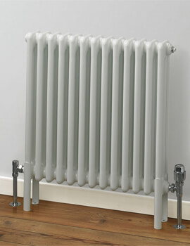 Rads 2 Rails Fitzrovia 500mm Height Horizontal 3 Column Radiator
