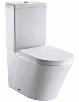Arco 660mm Rimless Closed Back Close Coupled WC Pan With Cistern