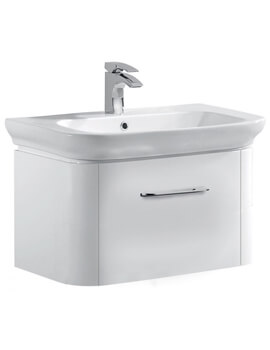 Grace 600mm Vanity Basin With Single Drawer Wall Mounted Unit