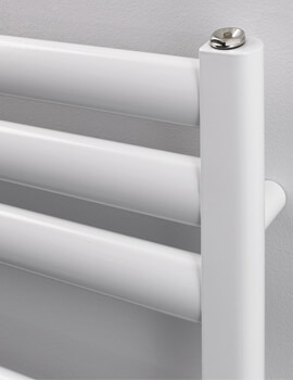 Rads 2 Rails Fulham White Dual Fuel Towel Rail 500 x 830mm