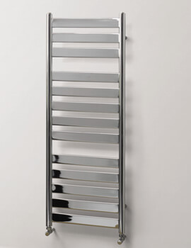 MHS Rads 2 Rails Hammersmith Electric Only Chrome Towel Rail 500 x 952mm