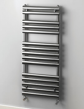 MHS Rads 2 Rails Paddington 500mm Wide Heated Towel Rail