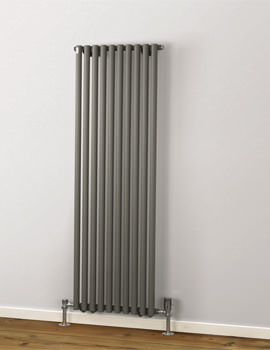 MHS Rads 2 Rails Battersea 1800mm High Single Panel Vertical Radiator
