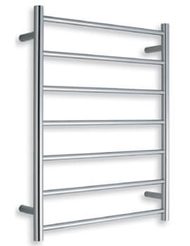 Warmup Straight 600 x 800mm Heated Electric Towel Rail