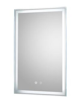 Dazzle 500 x 700mm Touch Sensor LED Mirror With Demister Pad