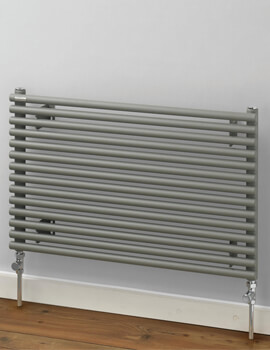 MHS Rads 2 Rails Battersea 512mm Height Single Tube Horizontal Radiator