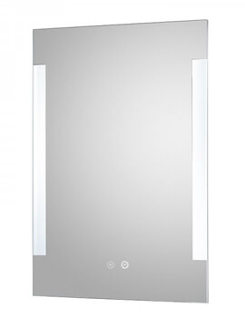 Vivo 500 x 700mm LED Mirror Glass With Demister Pad