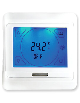 Warmup Sunstone Touchscreen Thermostat White