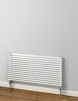 MHS Rads 2 Rails Battersea 512mm Height Double Tubes Horizontal Radiator