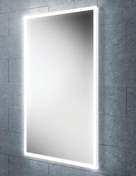 Lumen 45 LED Bathroom Mirror 450 x 800mm