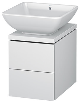 L-Cube 320mm 2 Drawer Vanity Unit For Console