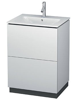 L-Cube 620mm Vanity Unit With Me By Starck Basin