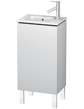 L-Cube 1 Door Floor Standing Vanity Unit For Me By Starck Basin