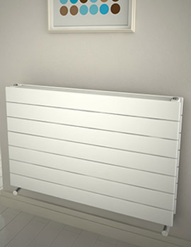 Reina Flatco Type 22 Steel 400 x 588mm White Designer Radiator - More Width Size Available