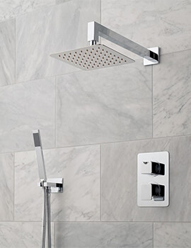 Phase 2 Outlet Thermostatic Shower Package With Mini Shower Kit