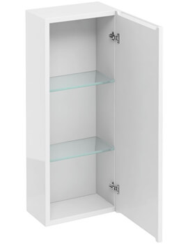 Britton 300mm Single Door Wall Hung Cabinet - Image