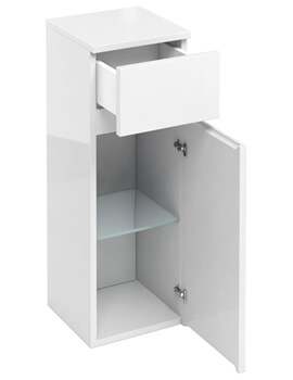 Compact D30 300mm Single Door Unit With Drawer