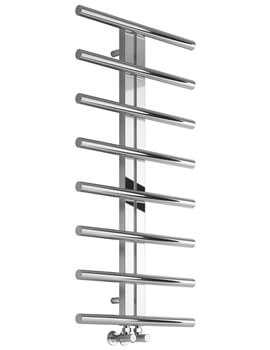 Pizzo 600 x 1000mm Stainless Steel Designer Radiator