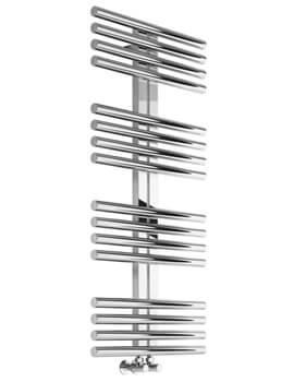Sorento 600mm Wide Stainless Steel Designer Radiator