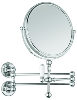 Cosmetic Wall Mirror Chrome