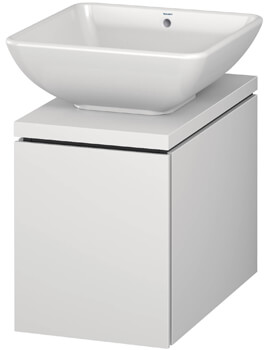 L-Cube 320mm Single Drawer Wall Hung Vanity Unit For Console