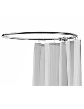 Round Curtain Shower Ring Chrome