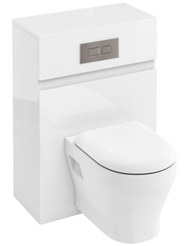 Britton D30 600mm Back To Wall WC Unit With Cistern