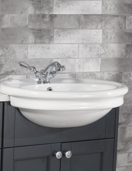 Hillingdon 1 Taphole Semi Counter Top Basin