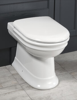 Hillingdon Back To Wall WC Pan