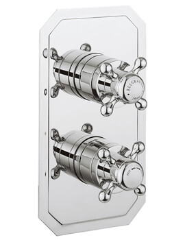 Belgravia Crosshead Slimline 2500 Thermostatic Shower Valve With 3 Way Diverter