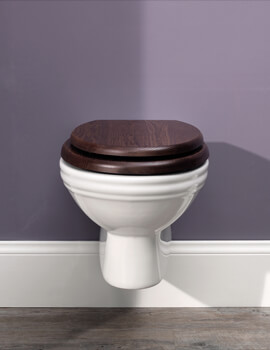Balasani Wall Mounted WC Pan White