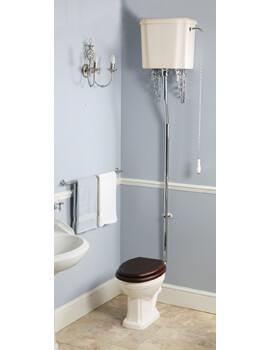 Balasani Old English White High Level WC With Cistern