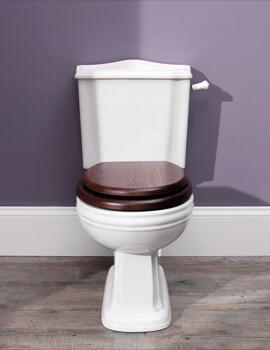 Balasani 430 x 704mm White Close Coupled Toilet