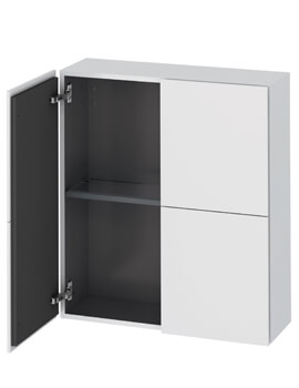 Duravit L-Cube 700 x 243mm Semi-Tall Cabinet