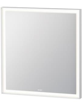 Hib Fleur Steam Free Mirror With Led Top Illumination 800