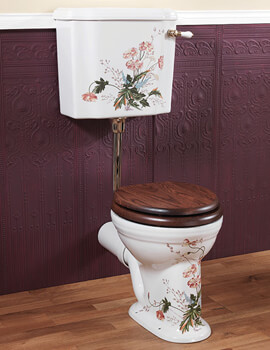Victorian Garden Low Level WC And Cistern With Fittings