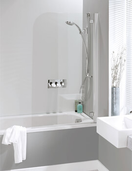 Simpsons Supreme Deluxe Single Panel Bath Screen 700mm