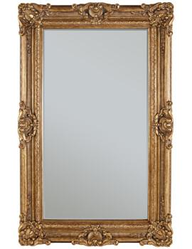 Chesham Grand Amber Gold Polyurethane Framed Mirror 1420 x 2240mm