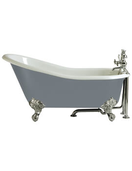 Kent Slipper Cast Iron Freestanding Bath With Feet
