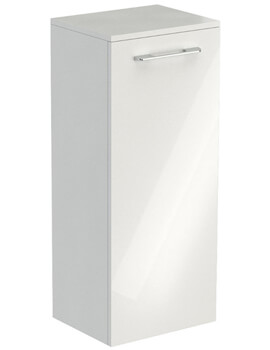 Saneux Austen 820mm Gloss White Soft Close Side Unit