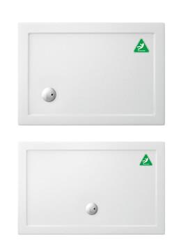 Rectangular Anti Slip Acrylic Tray 1000 x 800 x 35mm