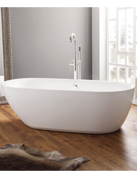 Cayton Contemporary Freestanding Oval Shaped Bath