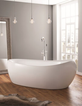 Horbury 1750 x 830mm Contemporary Freestanding Bath