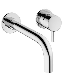 MPRO 2 Hole Wall Mounted Basin Mixer Tap