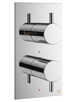 MPRO Thermostatic Bath Shower Valve With 2 Way Diverter