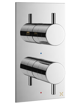 Crosswater MPRO Thermostatic Shower Valve With 2 Way Diverter