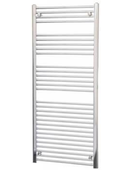 Biasi Dolomite White Straight Heated Towel Rail 400 x 1600mm