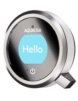 Aqualisa Q Smart Mixer Shower With Fixed Wall Head - Gravity Pumped